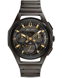 Bulova - Curv Watch - Lyst