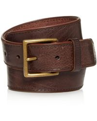 Frye - Jones Leather Belt - Lyst