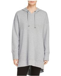 Kenneth Cole - Zip-back Hoodie Tunic - Lyst