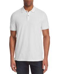 Michael Kors - Tipped Pique Polo Shirt - Lyst