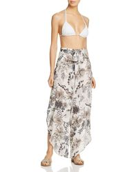 3cc0e2b6cc0 J Valdi - Polynesia Tulip Swim Cover - Up Trousers - Lyst