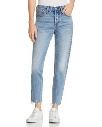 Levi's - Wedgie Icon Straight Jeans In Shut Up - Lyst