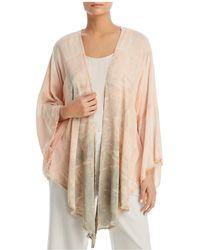 XCVI - Frayed Tie-dye Kimono - Lyst