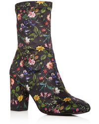 Kenneth Cole - Women's Alyssa Stretch Floral Print Sock Booties - Lyst
