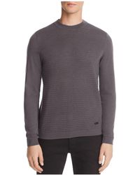 Armani - Ribbed Sweater - Lyst