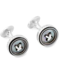 Turnbull & Asser - Mother Of Pearl Button Cufflinks - Lyst