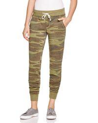 Alternative Apparel - Camouflage Joggers - Lyst