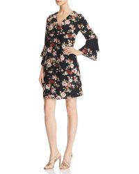 Sam Edelman - Floral Bell-sleeve Dress - Lyst