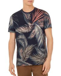 Ted Baker - Pencil Leaf Print Tee - Lyst