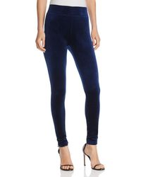 Aqua - Velvet Leggings - Lyst