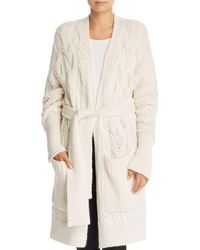 Joie - Omeed Belted Duster Cardigan - Lyst