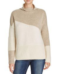 French Connection - Color-block Sweater - Lyst