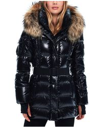 Sam. - Millennium Fur Trim Down Coat - Lyst