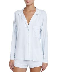 Eberjey - Gisele Long Sleeve Short Pajama Set - Lyst
