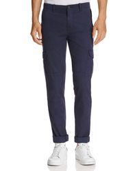Michael Bastian - Garment Dyed Twill Regular Fit Cargo Pants - Lyst
