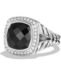 David Yurman | Albion Ring With Black Onyx And Diamonds | Lyst