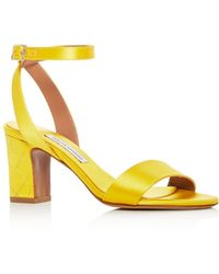 Tabitha Simmons - Women's Leticia Satin Ankle Strap High-heel Sandals - Lyst