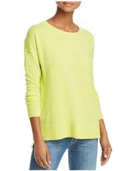 Aqua - High/low Cashmere Sweater - Lyst