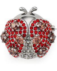Nadri - Siam Ladybug Pin - Lyst