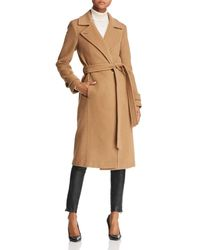 Mackage - Aude Belted Double-faced Coat - Lyst