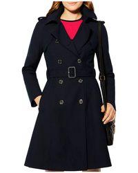 Karen Millen - Belted Trench Coat - Lyst