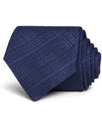 John Varvatos - Heathered Crosshatch Classic Tie - Lyst