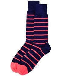 Paul Smith - Neon Stripe Socks - Lyst