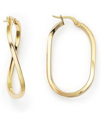 Roberto Coin - 18k Yellow Gold Earrings - Lyst