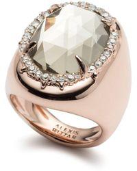 Alexis Bittar - Halo Signet Ring - Lyst