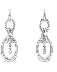 David Yurman - Pure Form Drop Earrings - Lyst