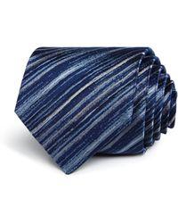 John Varvatos - Painter Stripe Classic Tie - Lyst