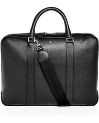 1f07530fa38f Lyst - Montblanc Classic Briefcase in Black for Men