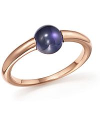 Pomellato | M'ama Non M'ama Ring With Iolite In 18k Rose Gold | Lyst