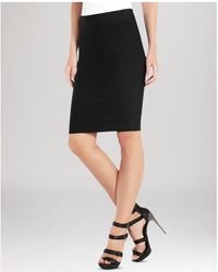 BCBGMAXAZRIA - Skirt - Alexa Knit - Lyst