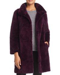 Maximilian - Sheared Beaver Fur Coat - Lyst