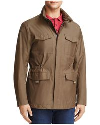 Armani - Caban Hooded Coat - Lyst