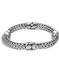 John Hardy - Women's Sterling Silver Kali Four Station Bracelet - Lyst