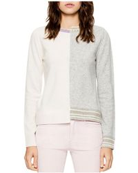 Zadig & Voltaire - Source Spliced Sweater - Lyst