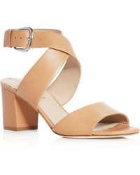 Via Spiga - Carson Crisscross High Heel Sandals - Lyst