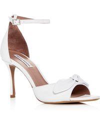 Tabitha Simmons - Women's Mimmi Leather High-heel Sandals - Lyst