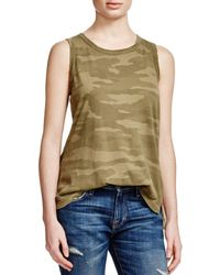 Current/Elliott - The Muscle Camo Tee - Lyst