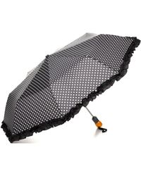 Bloomingdale's - Ruffle Dot Umbrella - Lyst