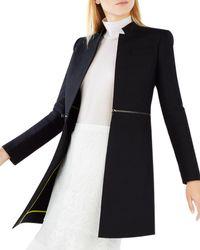 BCBGMAXAZRIA - Arelia Zip Waist A-line Jacket - Lyst