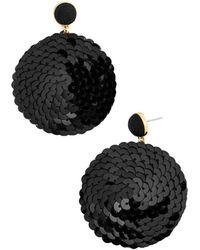 BaubleBar - Queenie Sequin Earrings - Lyst