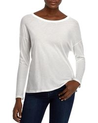 Michelle By Comune - Ardenvoir Twist-back Tee - Lyst