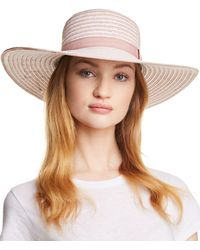 August Hat Company - Rosé All Day Floppy Hat - Lyst