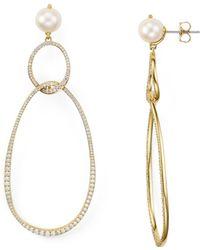 Nadri - Lanai Large Drop Earrings - Lyst