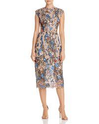 Bronx and Banco - Bird Of Paradise Embellished Dress - Lyst