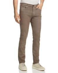 J Brand - Kane Straight Fit Jeans In Foliation - Lyst