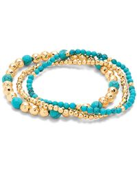 Gorjana - Gypset Beaded Stretch Bracelets - Lyst